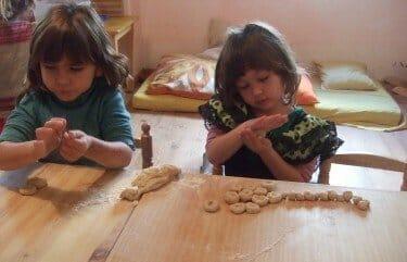 Matemáticas y ciencias en el jardín de infancia Waldorf