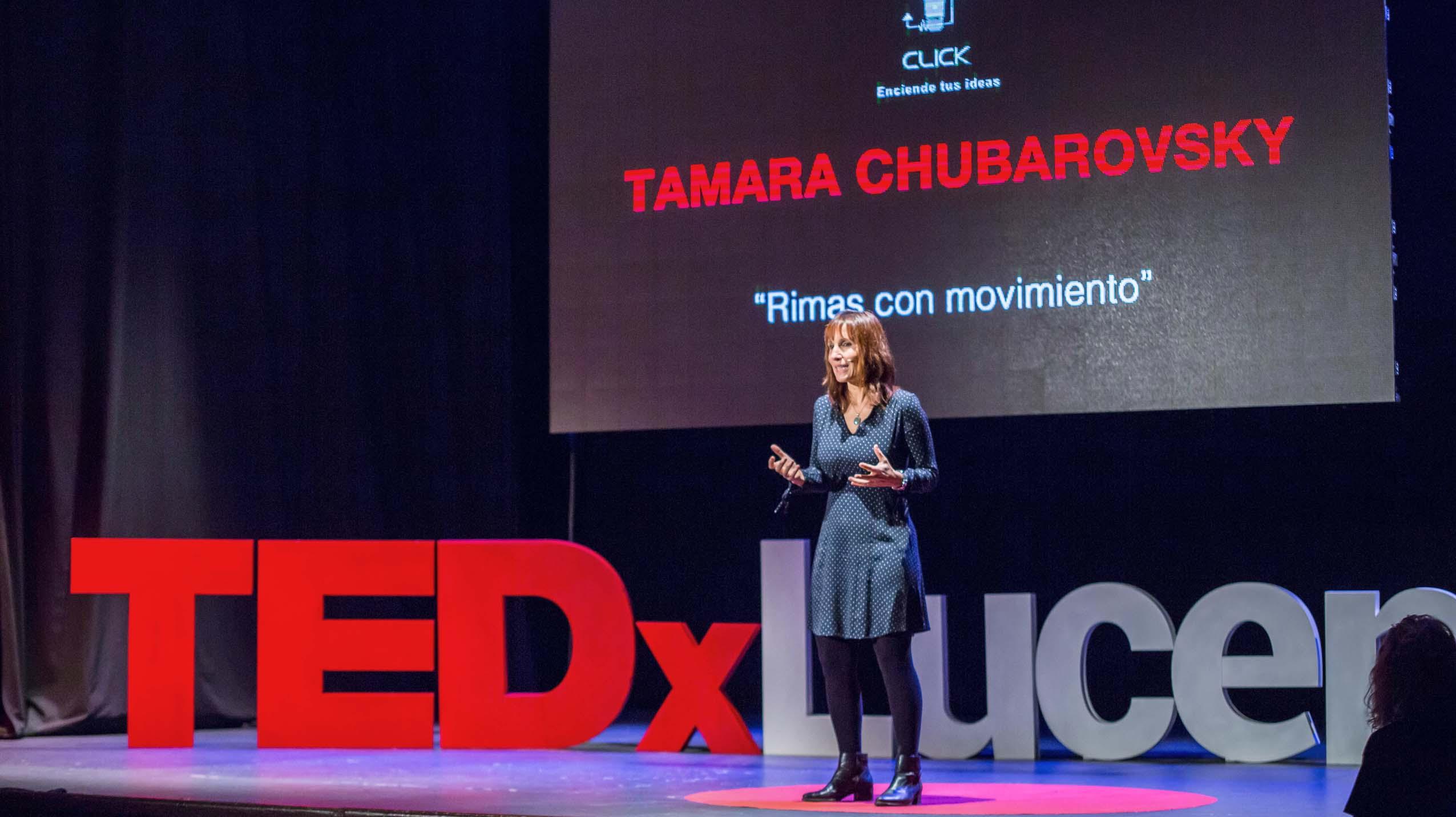 Rimas con movimiento en TEDx Lucena