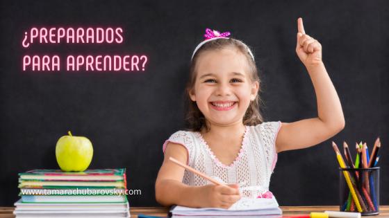 ¿Preparados para aprender?